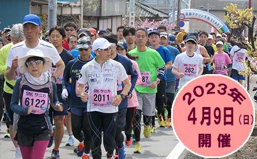 第14回南アルプス桃源郷マラソン大会